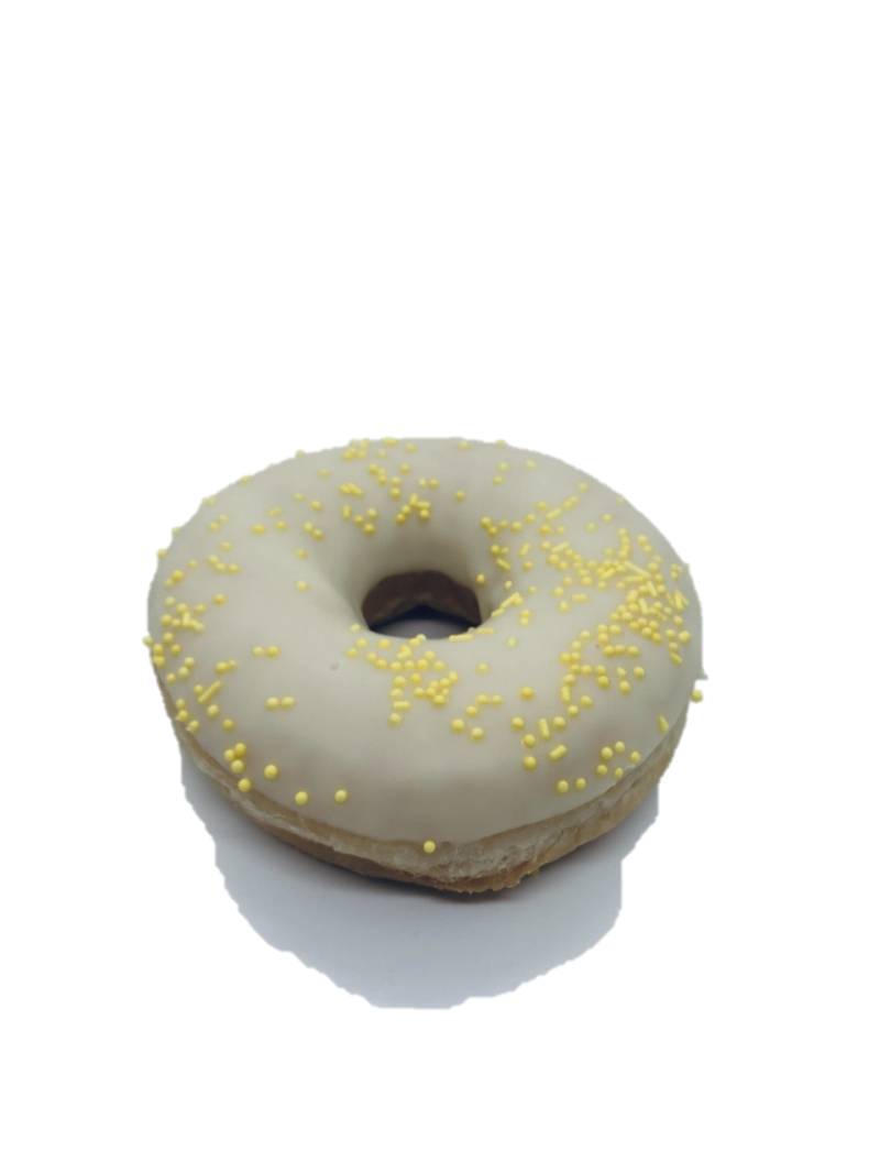 Paas donut Wit