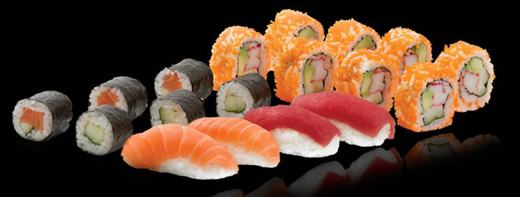 Mixed Sushi 1 person