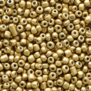 2MM ROCAILLES DARK CHAMPAGNE GOLD