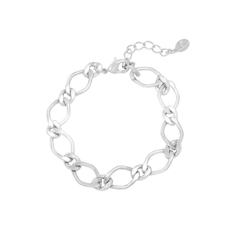 Armband Girly Chain Zilver