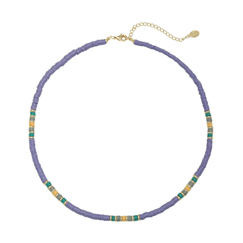 Necklace Colourful Day Paars