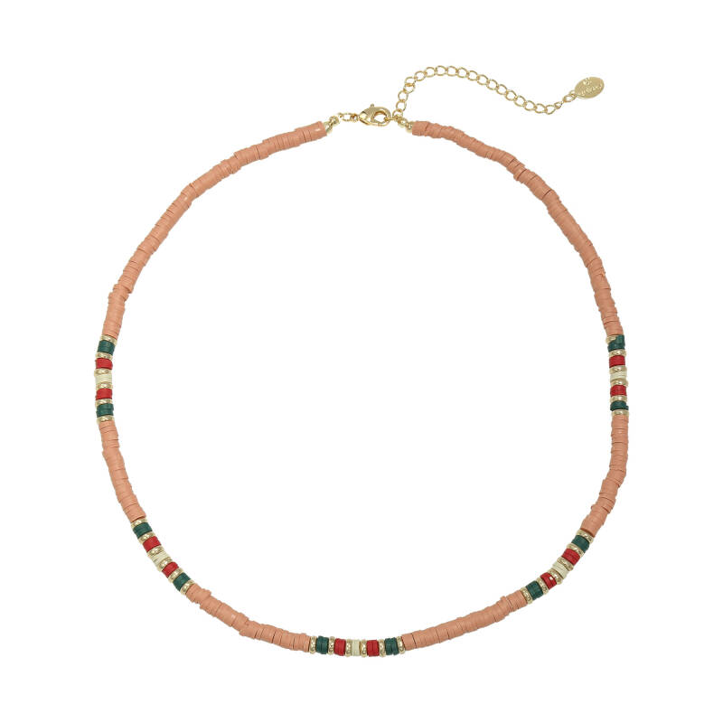 Necklace Colourful Day Oranje