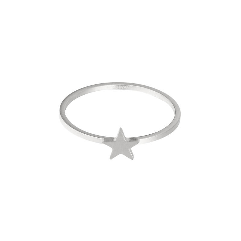 Ring Wish Upon A Star Zilver (RVS)