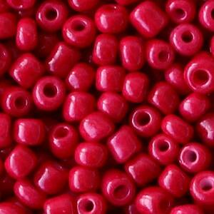 4MM ROCAILLES RUMBA RED