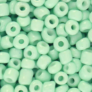 4MM ROCAILLES NEO MINT GREEN