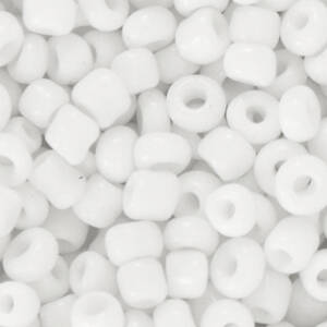 4MM ROCAILLES WHITE