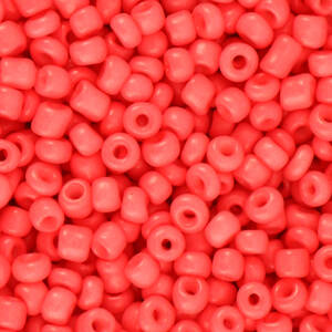 3MM ROCAILLES CORAL RED