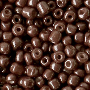 4MM ROCAILLES CHOCOLATE BROWN