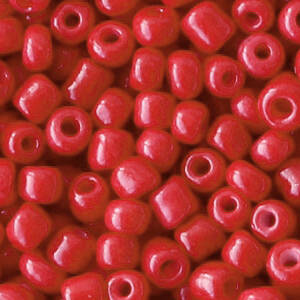 4MM ROCAILLES CRIMSON RED