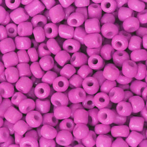 3MM ROCAILLES CERISE PINK