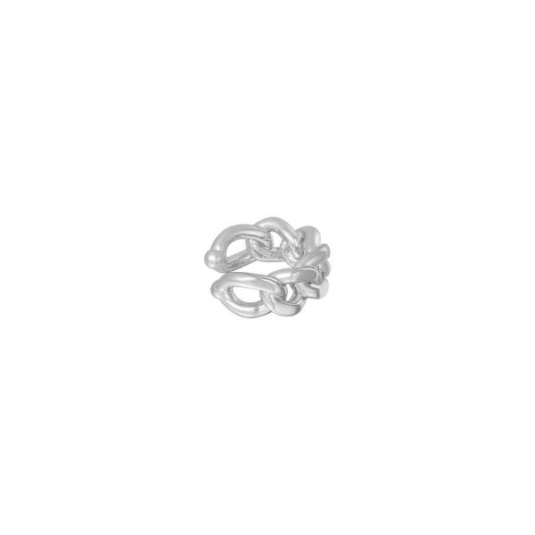 Earcuff Chained Zilver