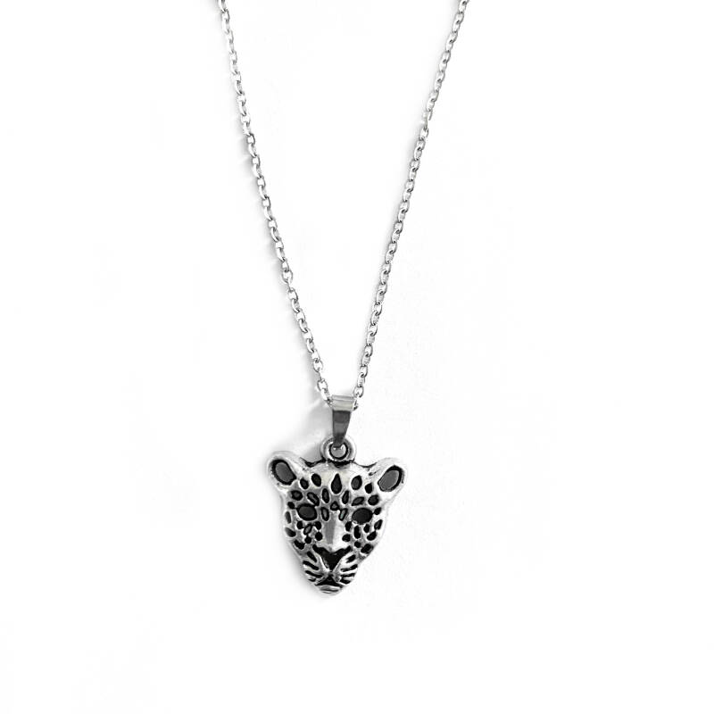 Ketting Wild Animal Zilver