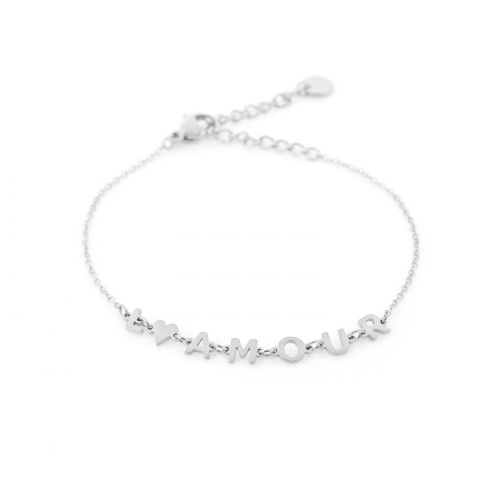 Armband L'amour Zilver
