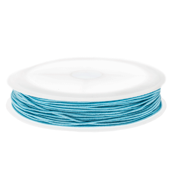 Elastiek (0.6 mm) Baby Blue (19 Meter)