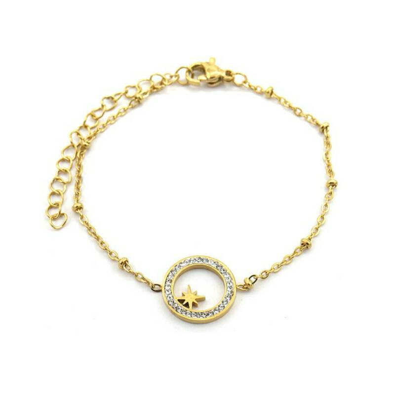 Armband Special Star Goud
