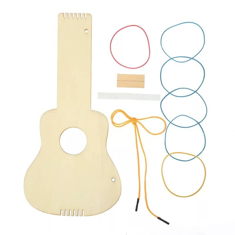 DIY wooden guitar kids