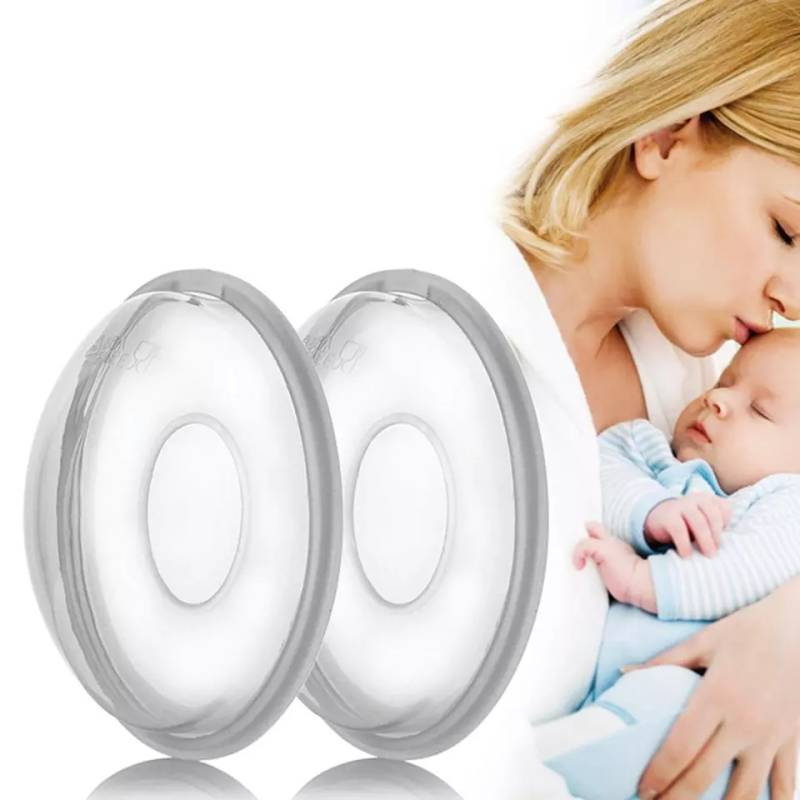 Silicone breast milk collector pads