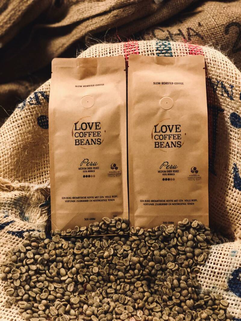 Peru Green/Bio Coffee  | 500 Gram