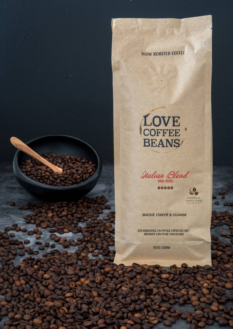 Love Coffee Beans |Italian Blend | 500 Gram
