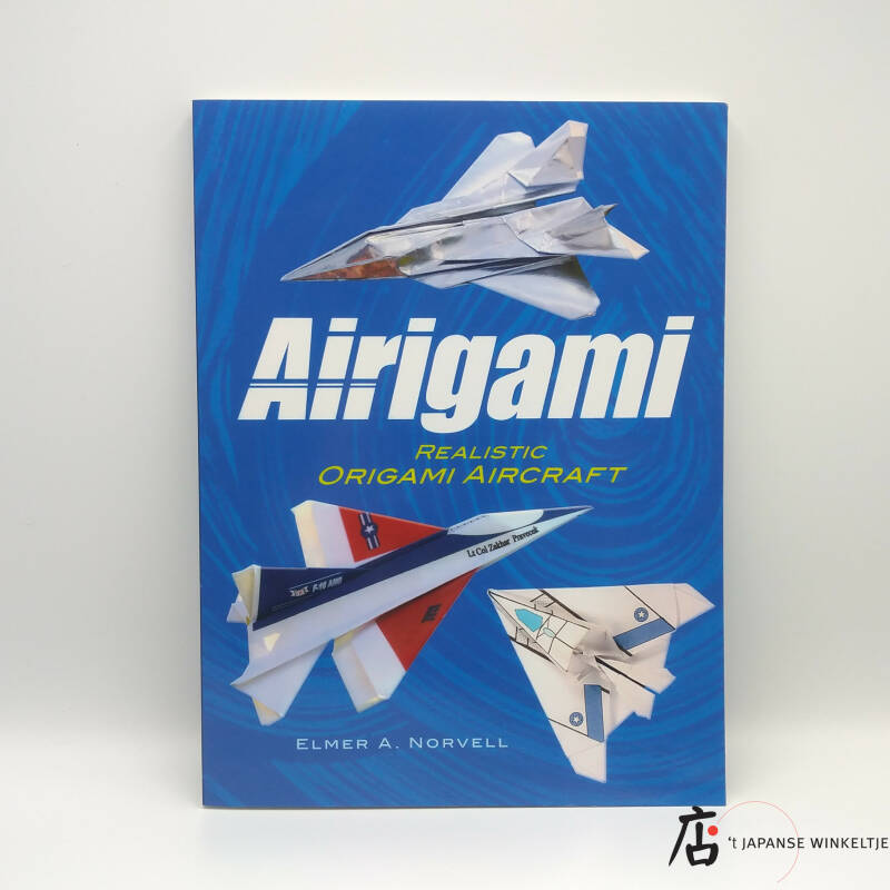 Airigami, realistic origami aircraft incl. CD-Rom