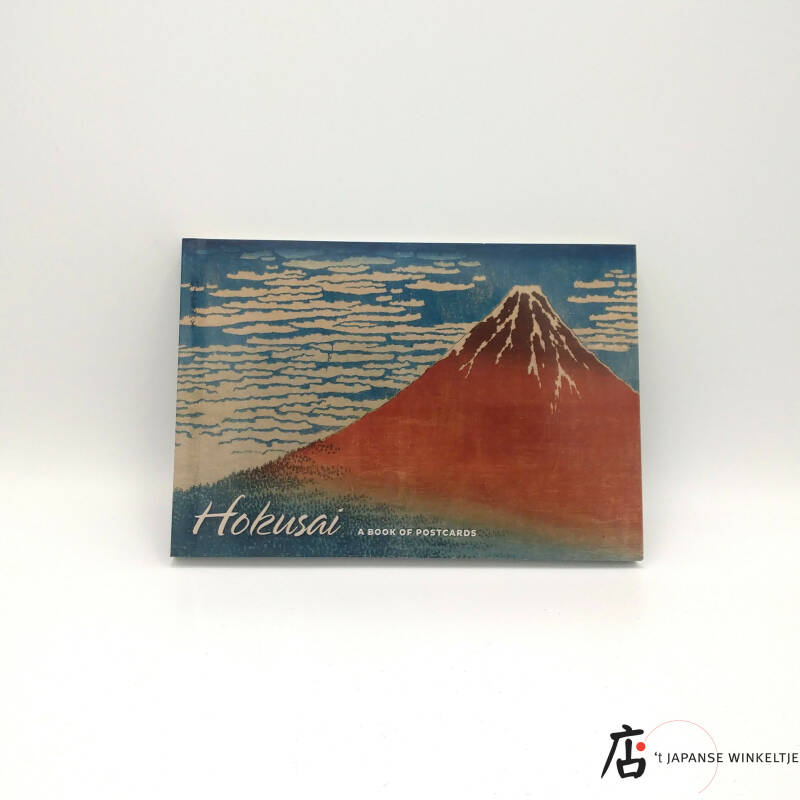 Hokusai; a book of 30 postcards (D-Pom-Ka-351), in bestelling