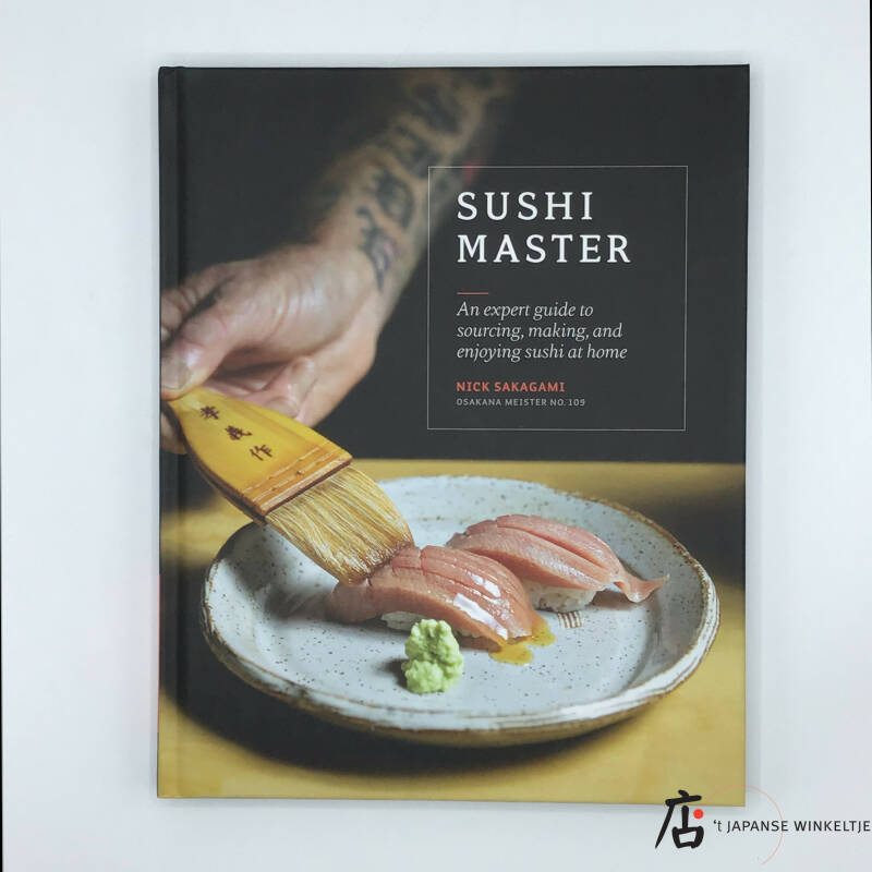 Sushi Master, an expert guide to sourcing, making, and enjoying sushi at home