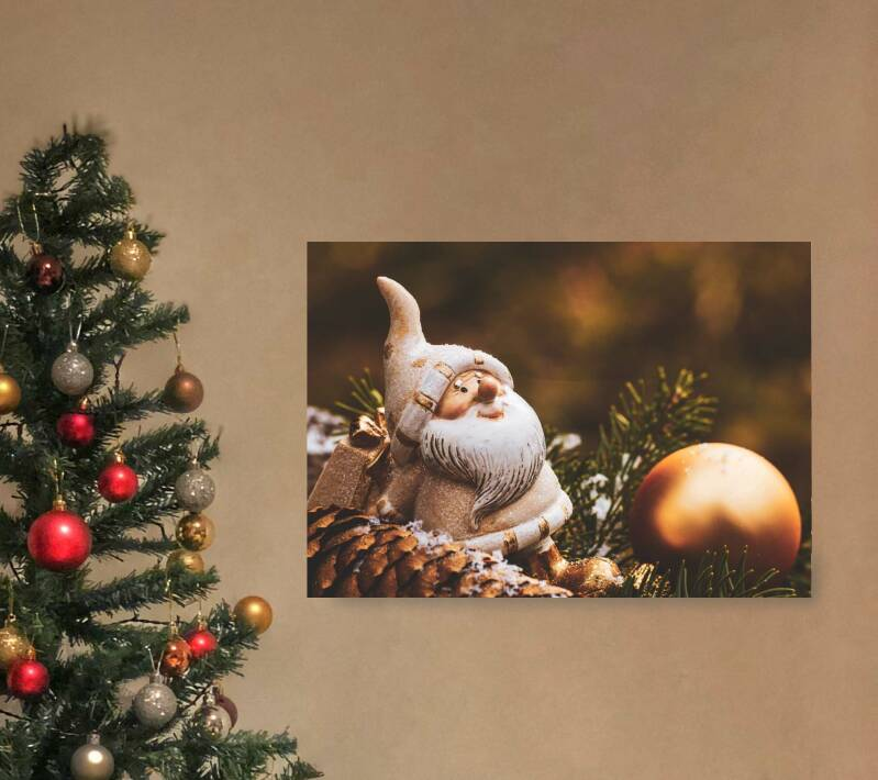 Kerst poster   Kabouter