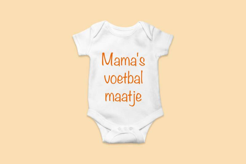 Rompertje 'Mama's voetbal maatje'
