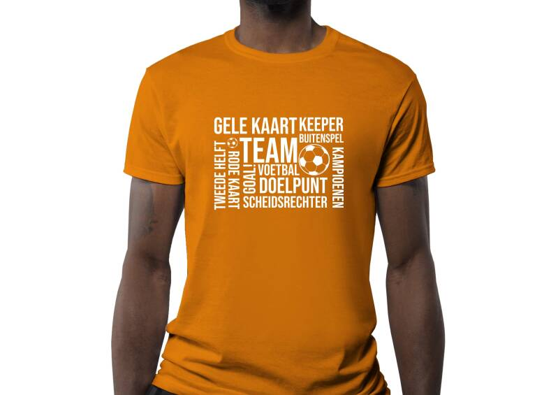 T-shirt 'Voetbal'