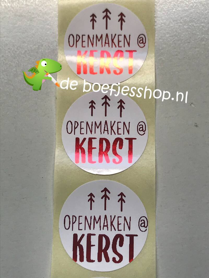 Super leuke sluit stickers