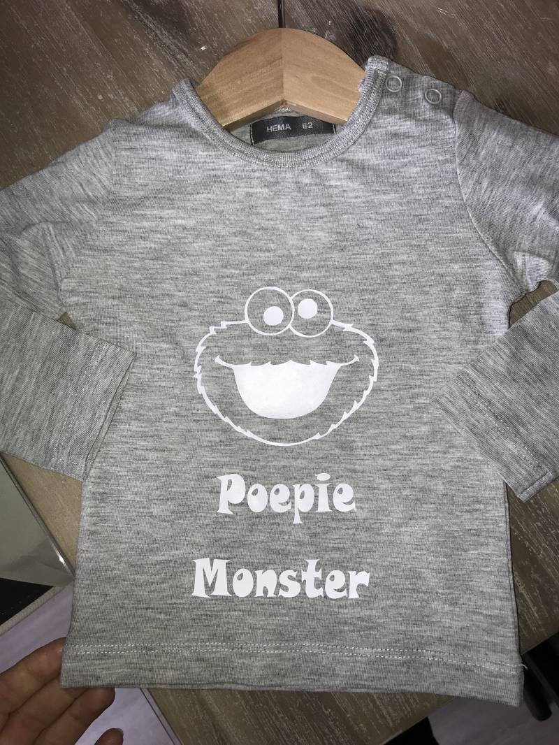 Poepie monster shirt