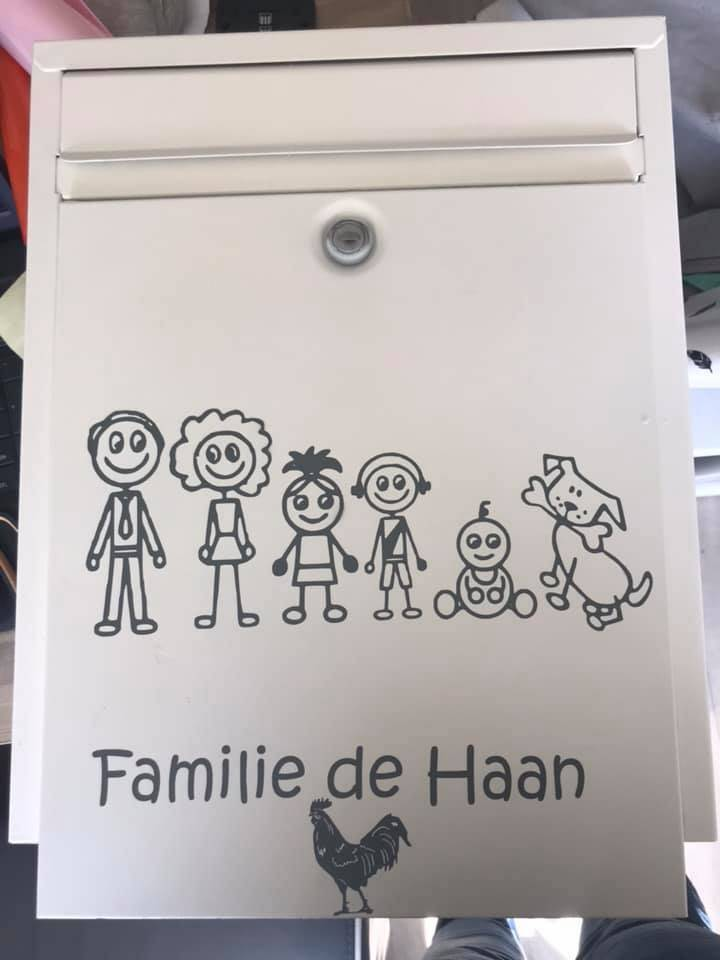 Familie stickers
