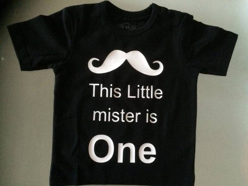 This Little mister is ONE shirt