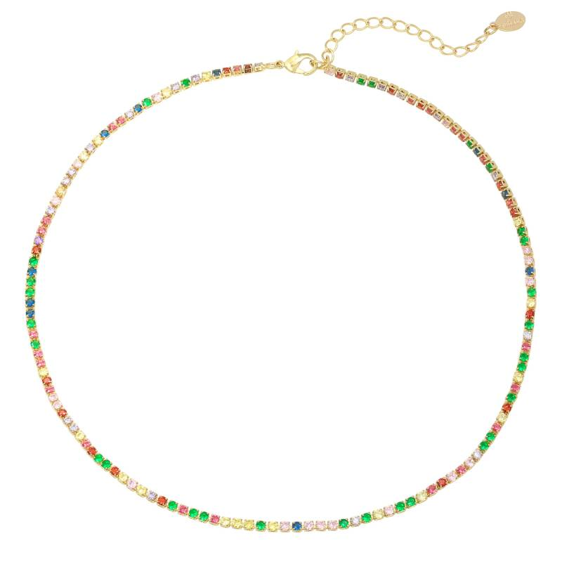 Ketting round with color