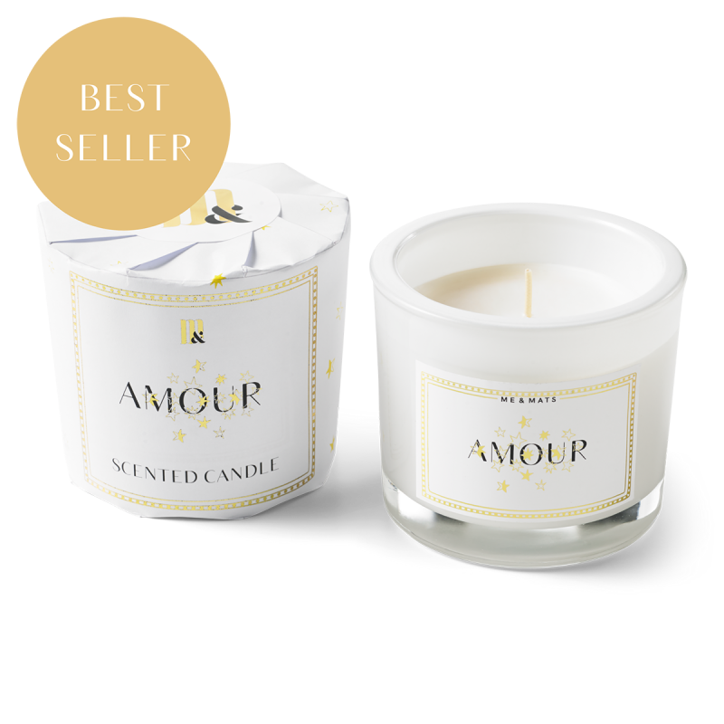 Me&Mats scented candle - amour