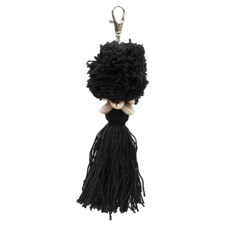 The pompom keychain