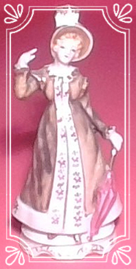 Porcelain Lady with unbrella