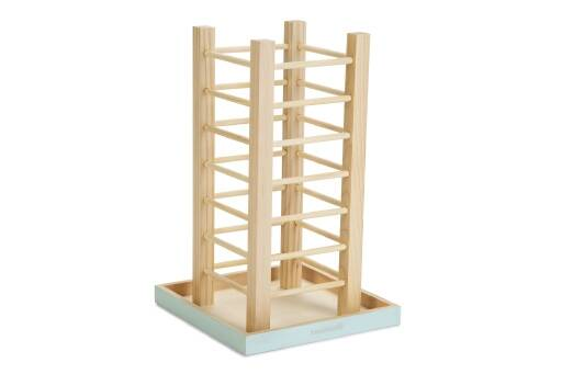 Beeztees Hooicontainer Denga - Knaagdier - Hout - 22x22x35cm
