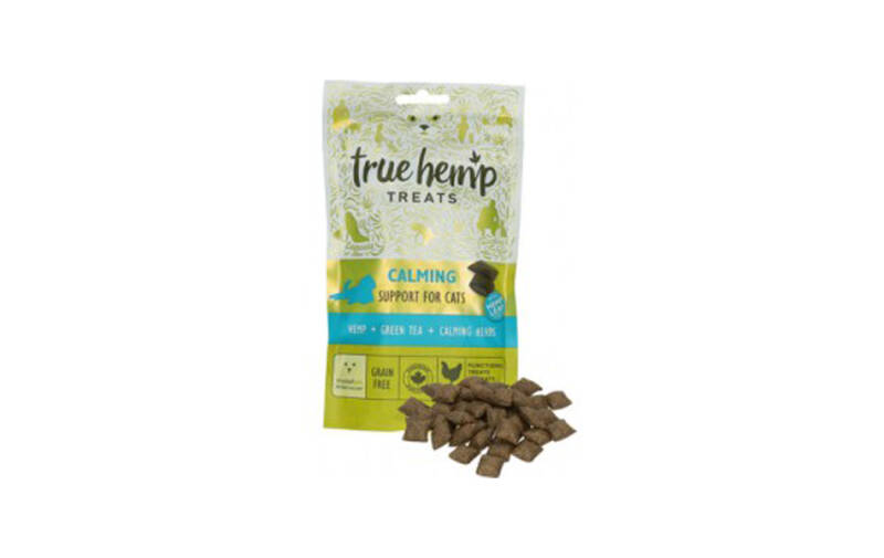 True hemp cat treats calming