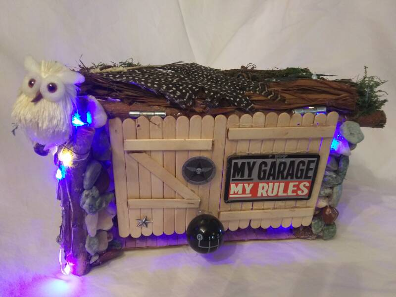 Biker Shop Fairy House