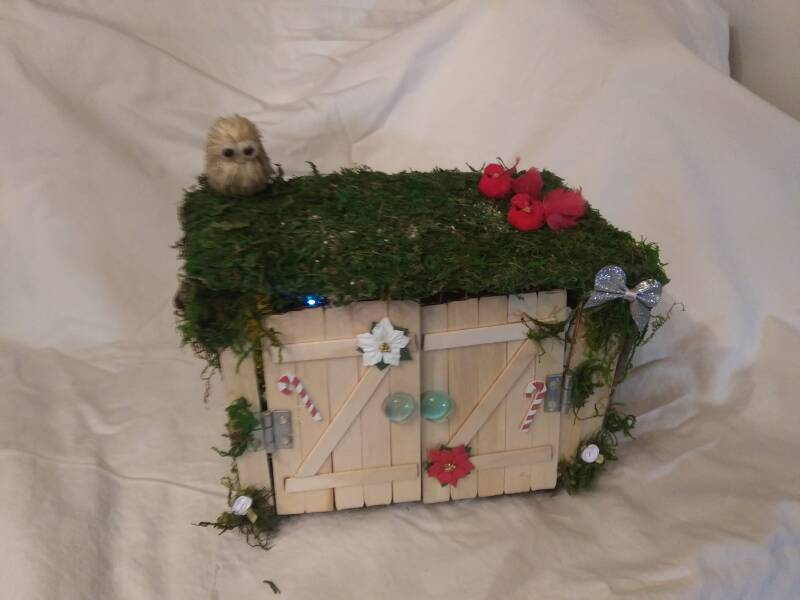 Christmas Fairy House