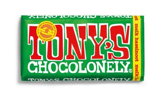 Tony chocolonely melk hazelnoot