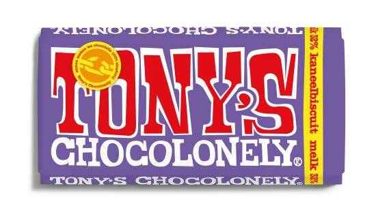 Tony Chocolonely Melk Kaneelbiscuit