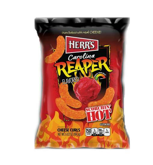 CAROLINA REAPER CHEESE CURL 184 gram