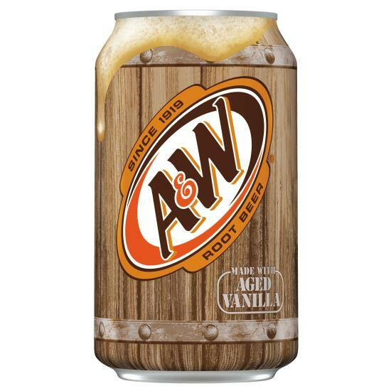 A&W ROOT BEER (USA) 355ML
