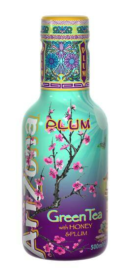 Arizona Green tea with Honey and Plum