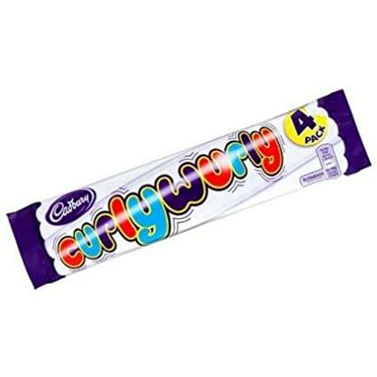 Cadbury Curly Wurly 4 Pack 104 gr