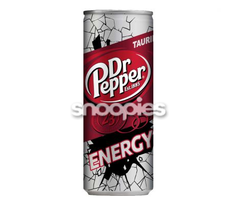 Dr. Pepper Energy blik 0,25 l.