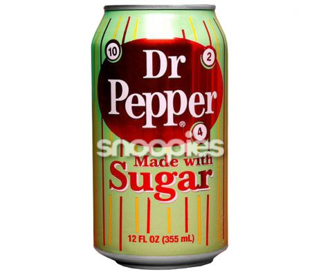Dr. Pepper Made With Sugar