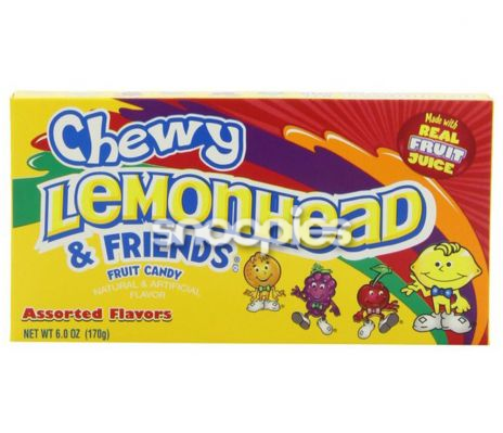 Lemonhead Chewy Theatre Box 141 gr.